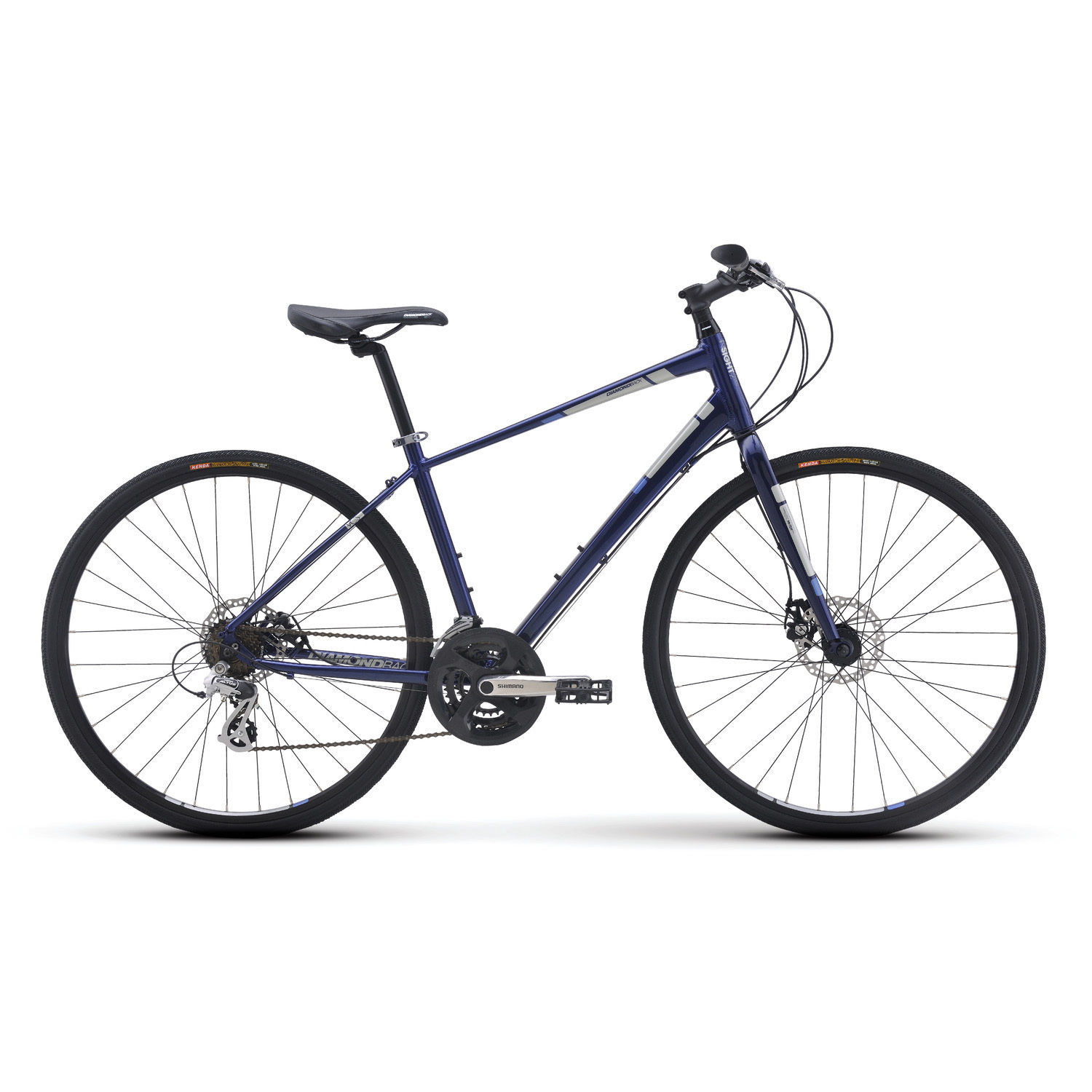 Diamondback Insight 2 Performance Hybrid Bike Blue