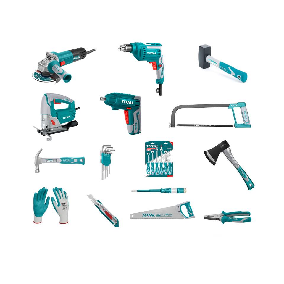 ხელსაწროების სრული ნაკრები (15 ნივთი ერთად)